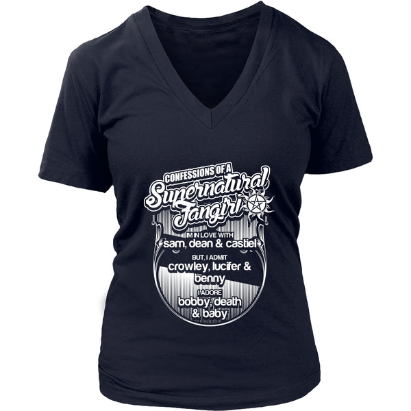 Confessions Of A Supernatural Fangirl - T-shirt - Supernatural-Sickness - 13