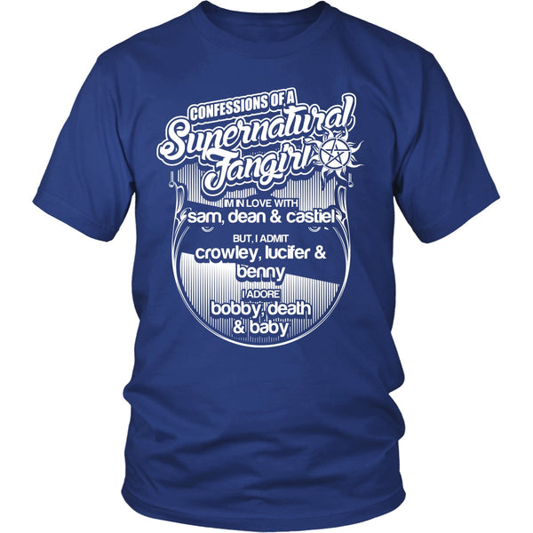 Confessions Of A Supernatural Fangirl - T-shirt - Supernatural-Sickness - 2