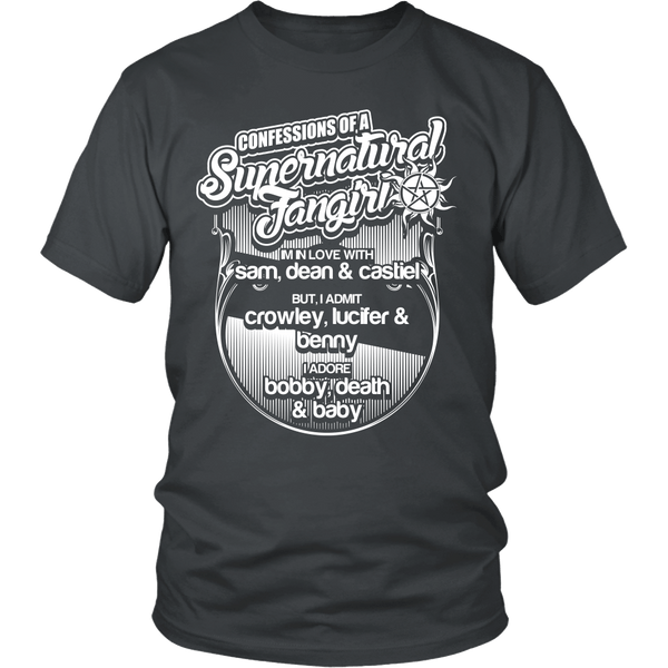 Confessions Of A Supernatural Fangirl - T-shirt - Supernatural-Sickness - 4