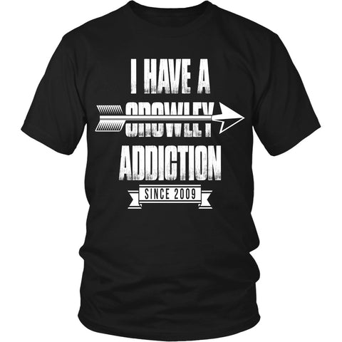 Crowley Addiction - Apparel - T-shirt - Supernatural-Sickness - 1