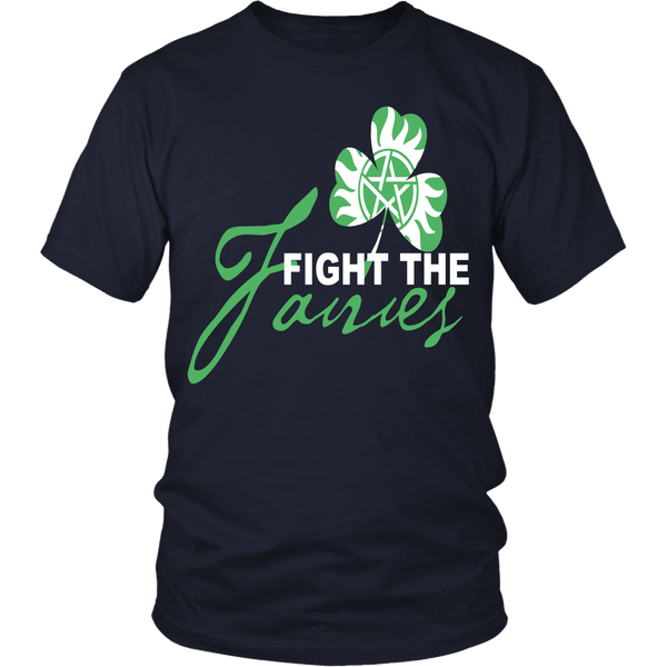Fight The Fairies - Limited Edition - T-shirt - Supernatural-Sickness - 1
