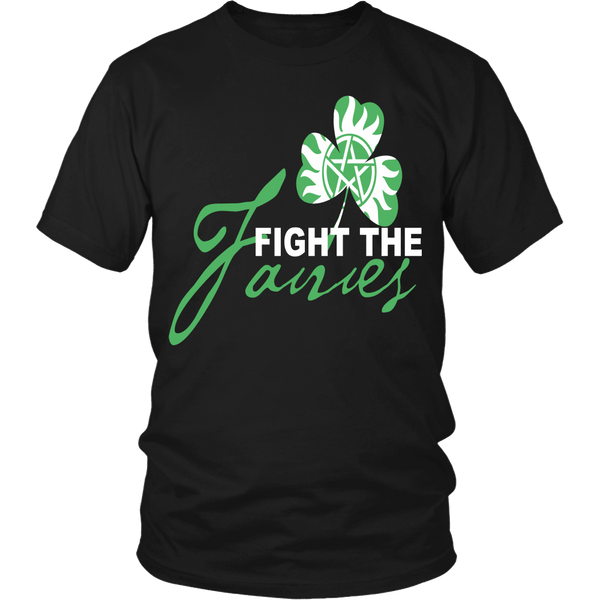 Fight The Fairies - Limited Edition - T-shirt - Supernatural-Sickness - 3