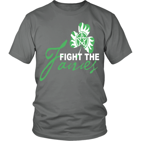 Fight The Fairies - Limited Edition - T-shirt - Supernatural-Sickness - 4
