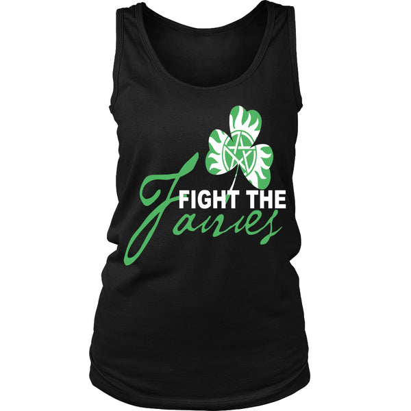 Fight The Fairies - Tank Top - T-shirt - Supernatural-Sickness - 13