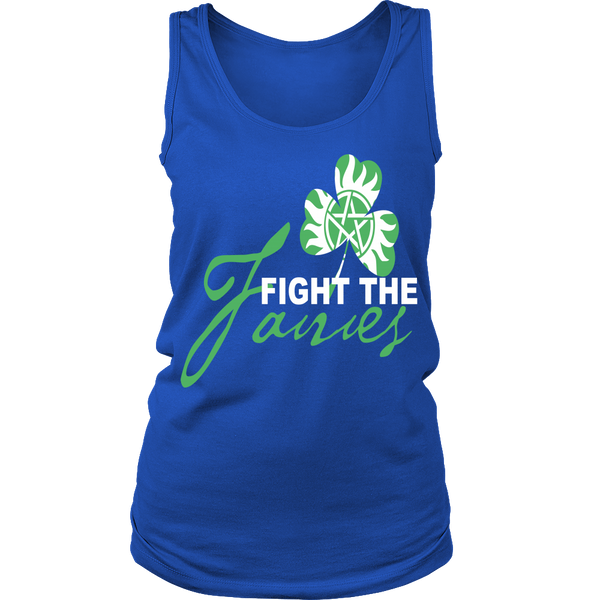 Fight The Fairies - Tank Top - T-shirt - Supernatural-Sickness - 14