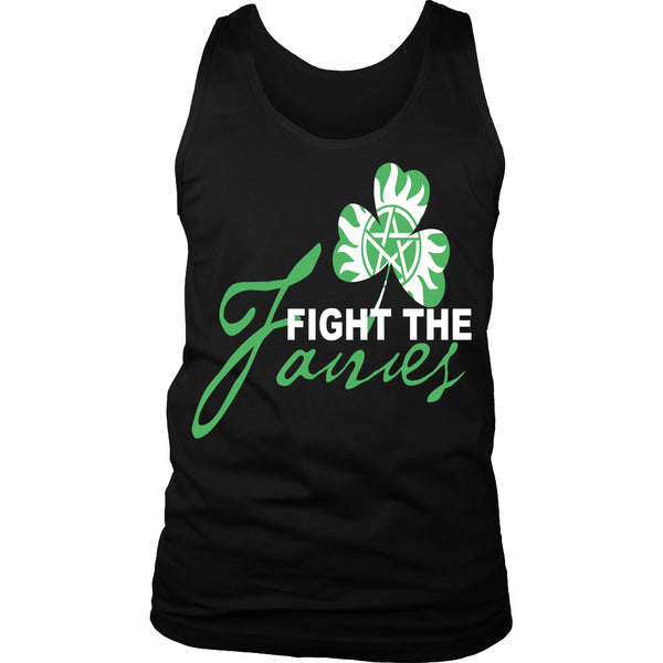 Fight The Fairies - Tank Top - T-shirt - Supernatural-Sickness - 1
