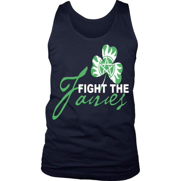 Fight The Fairies - Tank Top - T-shirt - Supernatural-Sickness - 5