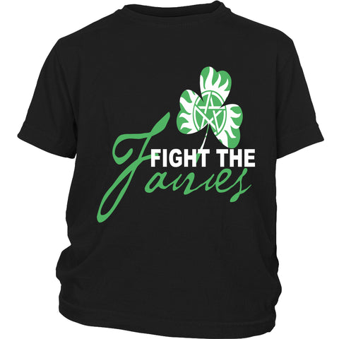 Fight The Fairies - Youth Apparel - Youth T-shirt - Supernatural-Sickness - 1