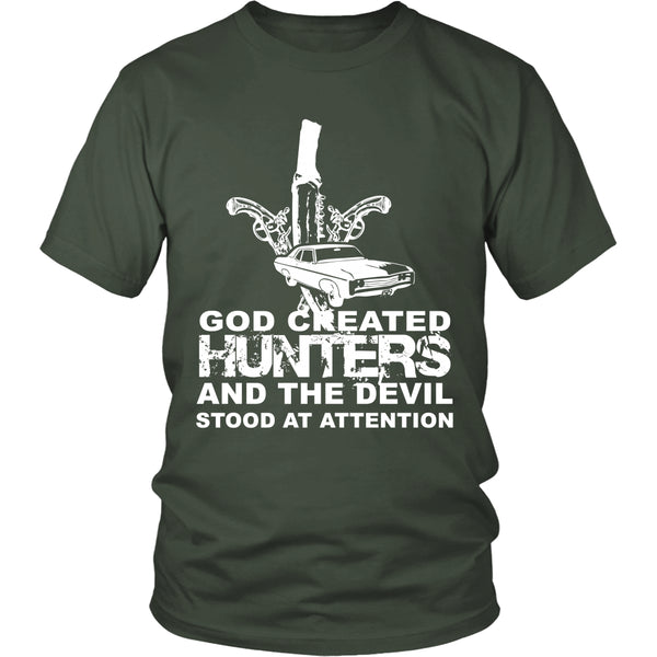 God created Hunters - Apparel - T-shirt - Supernatural-Sickness - 5