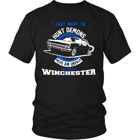 Hunt Demons - Apparel - T-shirt - Supernatural-Sickness - 1