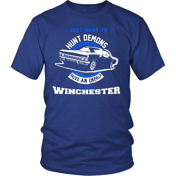 Hunt Demons - Apparel - T-shirt - Supernatural-Sickness - 2