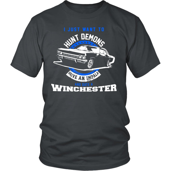 Hunt Demons - Apparel - T-shirt - Supernatural-Sickness - 4