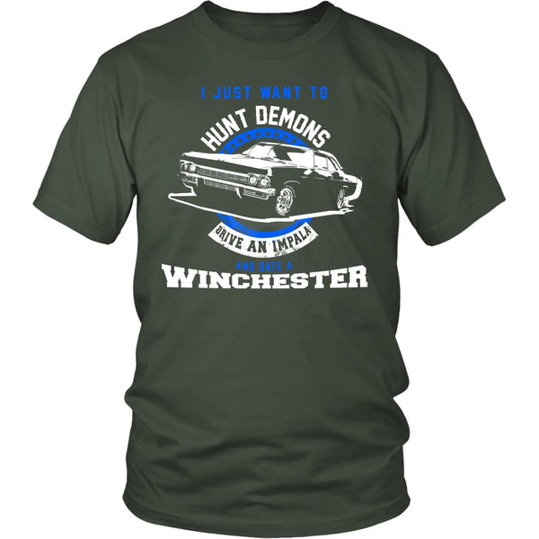 Hunt Demons - Apparel - T-shirt - Supernatural-Sickness - 5
