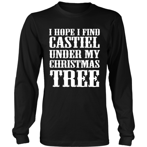 I Hope I Find Castiel - T-shirt - Supernatural-Sickness - 1