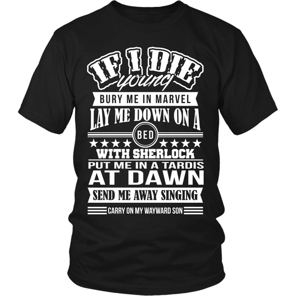 If I Die Young - T-shirt - Supernatural-Sickness - 1