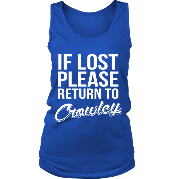 If Lost Crowley - Tank Top - T-shirt - Supernatural-Sickness - 14