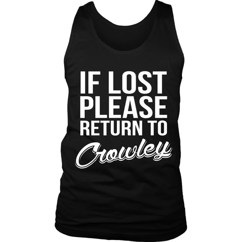 If Lost Crowley - Tank Top - T-shirt - Supernatural-Sickness - 1