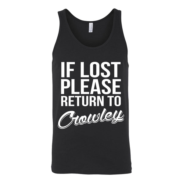 If Lost Crowley - Tank Top - T-shirt - Supernatural-Sickness - 3