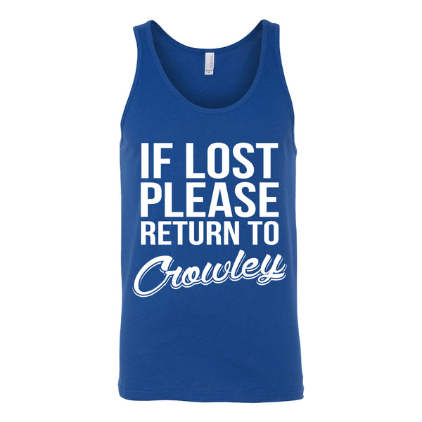 If Lost Crowley - Tank Top - T-shirt - Supernatural-Sickness - 4
