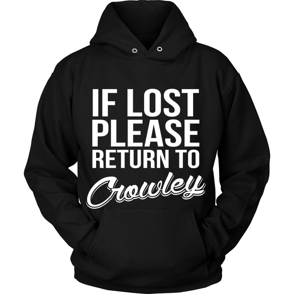 If Lost Crowley - Tank Top - T-shirt - Supernatural-Sickness - 8