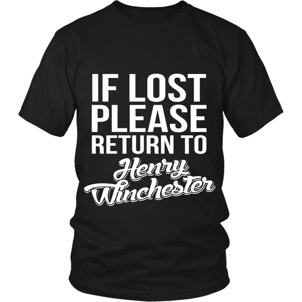 If Lost - Henry Winchester - T-shirt - Supernatural-Sickness - 1