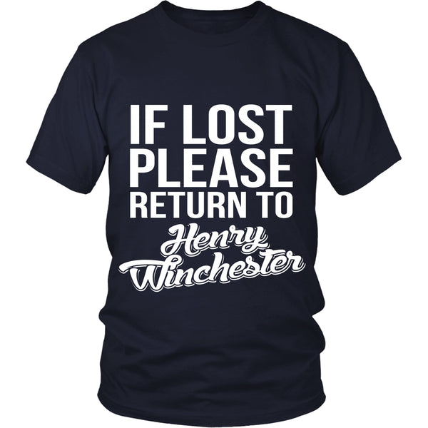 If Lost - Henry Winchester - T-shirt - Supernatural-Sickness - 2