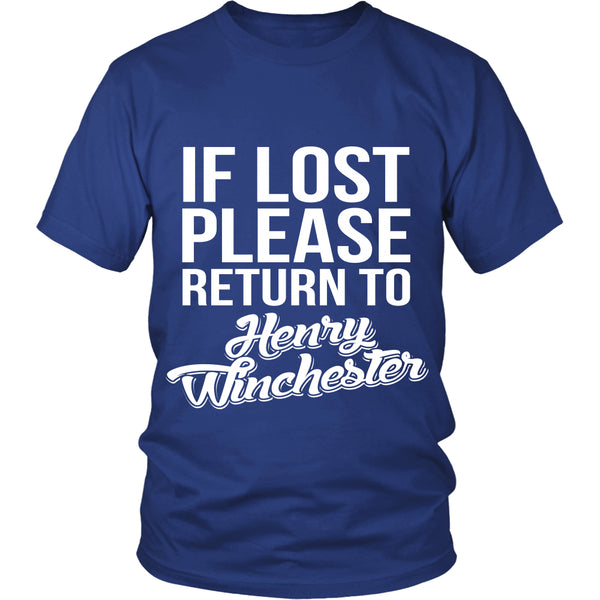 If Lost - Henry Winchester - T-shirt - Supernatural-Sickness - 3