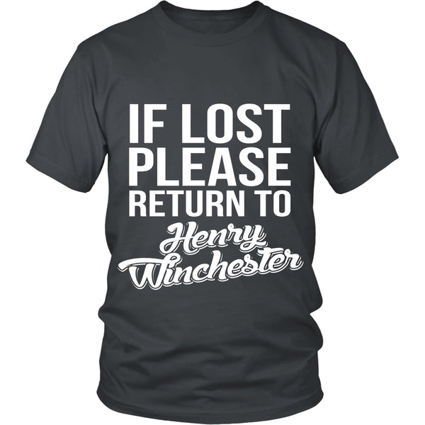 If Lost - Henry Winchester - T-shirt - Supernatural-Sickness - 4
