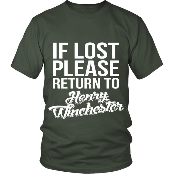 If Lost - Henry Winchester - T-shirt - Supernatural-Sickness - 5