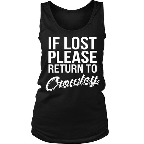IF LOST Return to Crowley - T-shirt - Supernatural-Sickness - 10