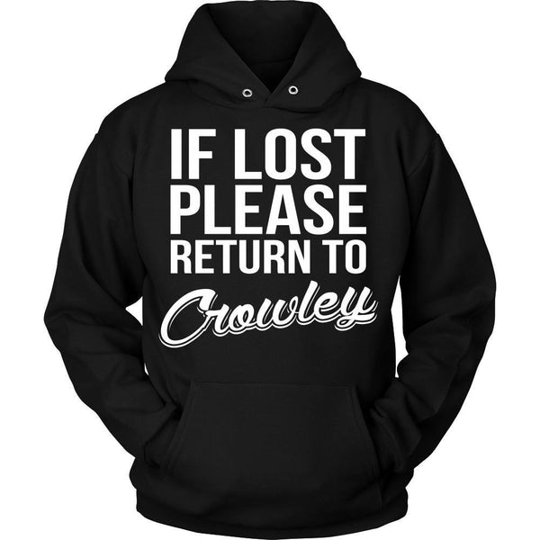 IF LOST Return to Crowley - T-shirt - Supernatural-Sickness - 8