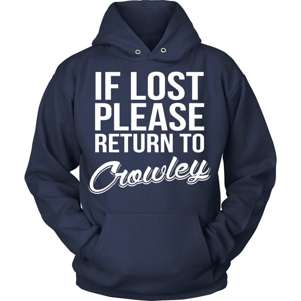 IF LOST Return to Crowley - T-shirt - Supernatural-Sickness - 9