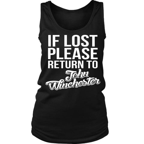 IF LOST Return to John Winchester - T-shirt - Supernatural-Sickness - 10