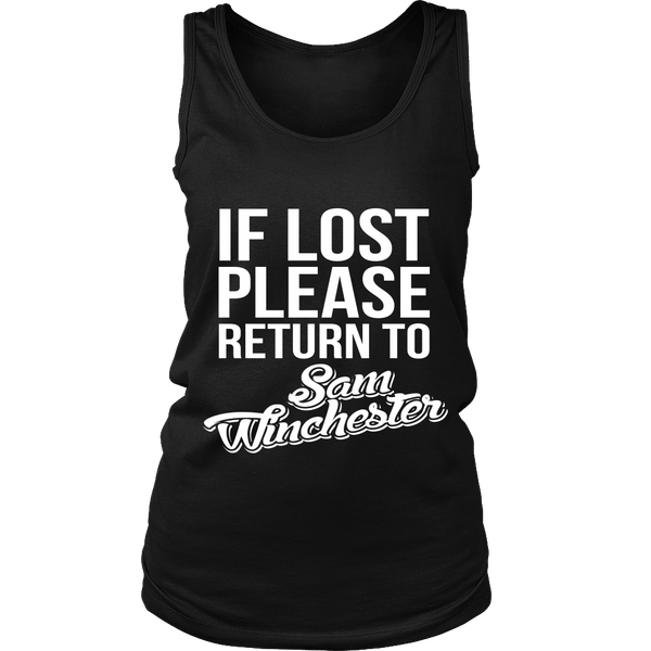 IF LOST Return to Sam - T-shirt - Supernatural-Sickness - 10