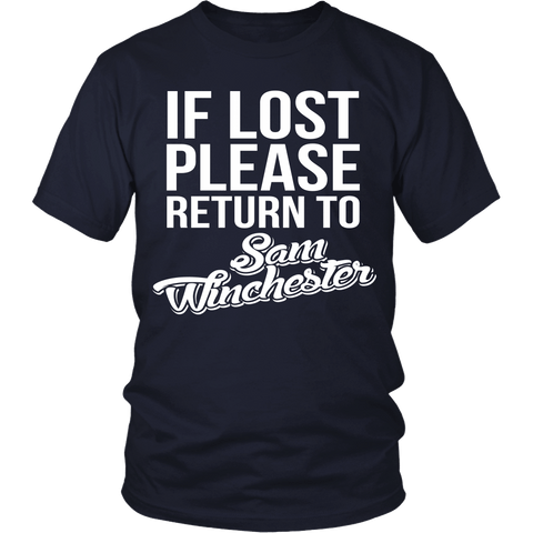 IF LOST Return to Sam - T-shirt - Supernatural-Sickness - 1