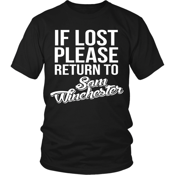 IF LOST Return to Sam - T-shirt - Supernatural-Sickness - 4