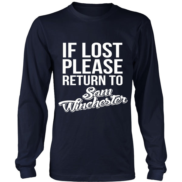 IF LOST Return to Sam - T-shirt - Supernatural-Sickness - 6