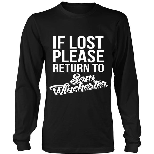 IF LOST Return to Sam - T-shirt - Supernatural-Sickness - 7