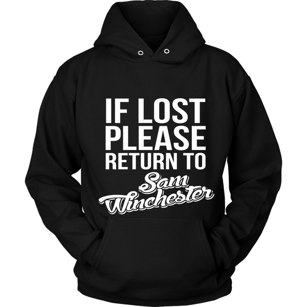 IF LOST Return to Sam - T-shirt - Supernatural-Sickness - 8