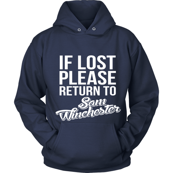 IF LOST Return to Sam - T-shirt - Supernatural-Sickness - 9