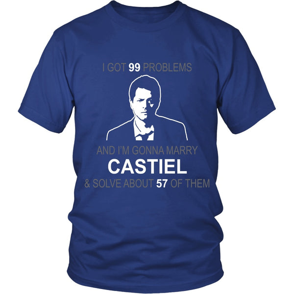 Im gonna marry Castiel - Apparel - T-shirt - Supernatural-Sickness - 2