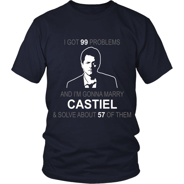 Im gonna marry Castiel - Apparel - T-shirt - Supernatural-Sickness - 3