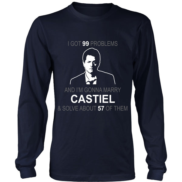 Im gonna marry Castiel - Apparel - T-shirt - Supernatural-Sickness - 6