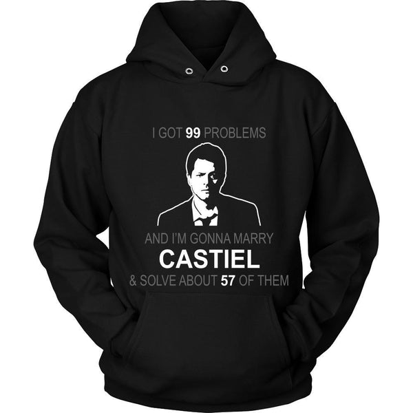 Im gonna marry Castiel - Apparel - T-shirt - Supernatural-Sickness - 8