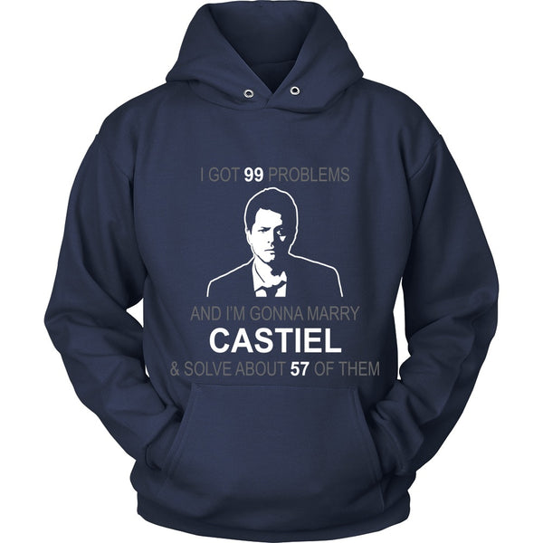 Im gonna marry Castiel - Apparel - T-shirt - Supernatural-Sickness - 9