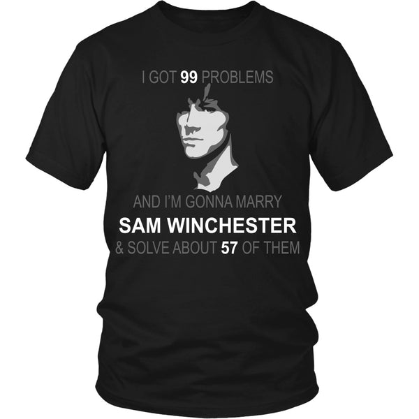 Im gonna marry Sam - Apparel - T-shirt - Supernatural-Sickness - 1