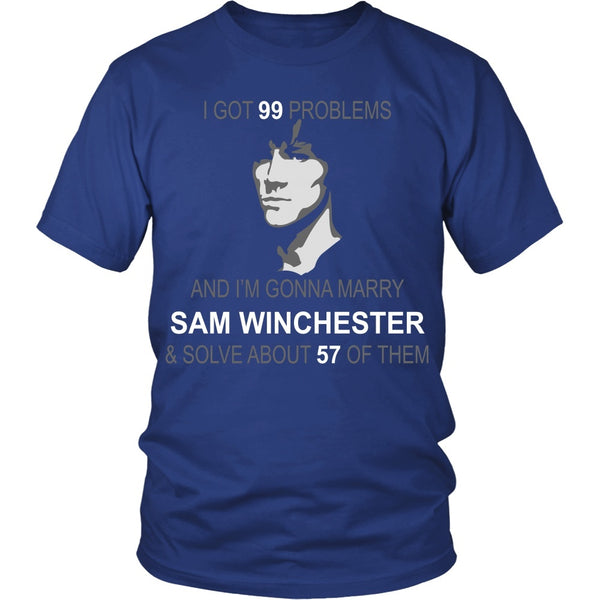 Im gonna marry Sam - Apparel - T-shirt - Supernatural-Sickness - 2