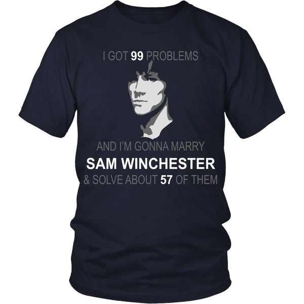 Im gonna marry Sam - Apparel - T-shirt - Supernatural-Sickness - 3