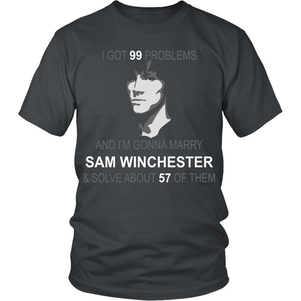Im gonna marry Sam - Apparel - T-shirt - Supernatural-Sickness - 4