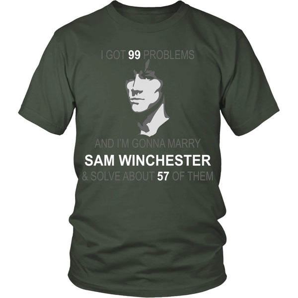 Im gonna marry Sam - Apparel - T-shirt - Supernatural-Sickness - 5